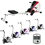 We R Sports Premium-Rudergerät, Heim-Rudergerät zum Trainieren, für Fitness, Kardio, Workout,...