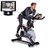 Sportstech Profi Indoor Cycle SX400 mit Smartphone App+Google Street View,22KG...