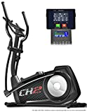 Sportstech CX2 Crosstrainer mit Smartphone App & integriertem Stromgenerator-Ellipsentrainer inkl....