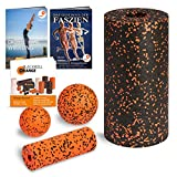 Blackroll Orange (Das Original) Starter Set mit 2x Faszien-Rolle & 2x Massageball, inkl. Booklet,...