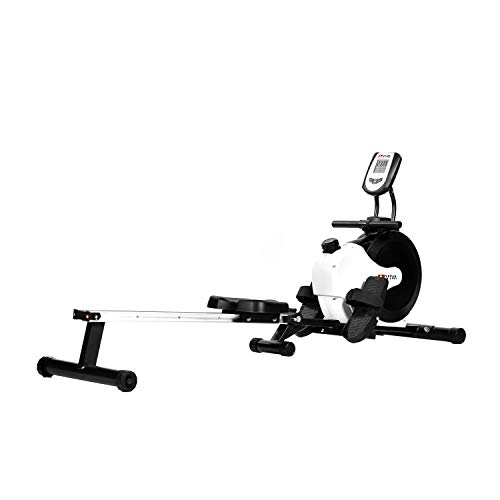 AsVIVA RA11 Rudergerät Ergometer Rower Cardio XI mit 8 manuellen Widerstandsstufen inkl....