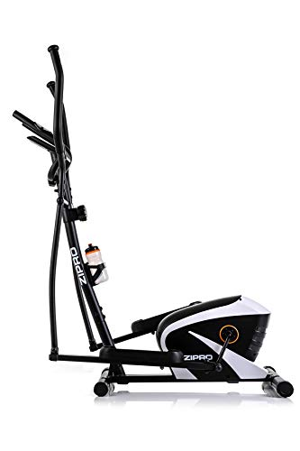 Zipro Erwachsene Magnetischer Crosstrainer Shox RS bis 120kg, Schwarz, One Size, einheitsgröße