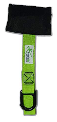 eaglefit Türanker - die sichere, Variable Türbefestigung für SlingTrainer - mit Karabiner, grün