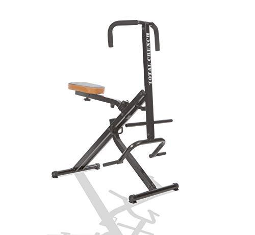Mediashop TOTAL Crunch Trainingsgerät | Heimtrainer | Fitnessgerät | Bizeps, Latissimus, Bauch,...