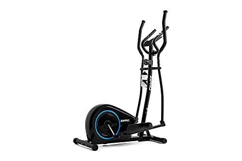 Zipro Erwachsene Magnetischer Crosstrainer Burn bis 120kg, Schwarz, One Size, einheitsgröße