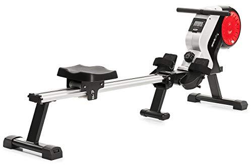 SportPlus Rudergerät klappbar für zuhause - 8 Stufen, leises & wartungsfreies Magnetbremssystem,...