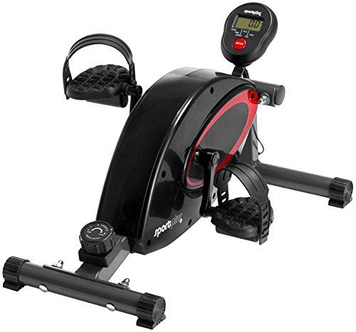 SportPlus Beintrainer inkl. Trainingscomputer, hochwertiges & leises Magnetbremssystem, 8...