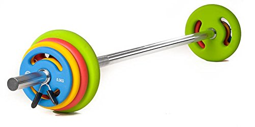 Oliver Neopren-Langhantelset PrimePump 16 kg - Langhantelset Gewichtsscheiben