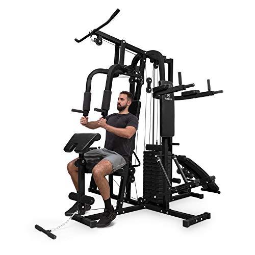 Klarfit Ultimate Gym Kraftstation - multifunktionale Fitnessstation, Trainingsstation,...