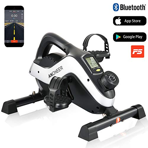 ANCHEER Mini Bike Heimtrainer Bewegungstrainer Arm- und Beintrainer, Pedaltrainer Hometrainer...