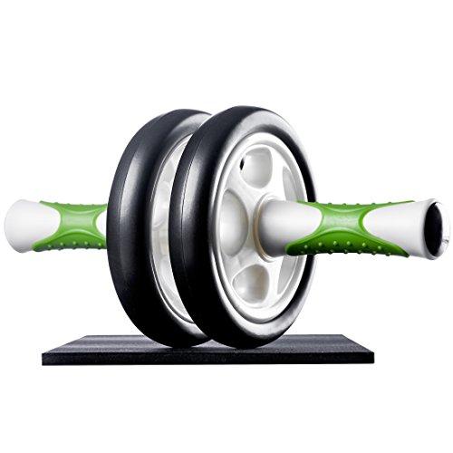 Ultrasport Bauchtrainer AB Roller / AB Trainer inkl. Knieauflage, Bauchtraining für Männer und...