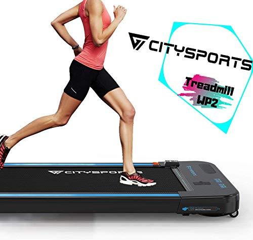 CITYSPORTS Laufband mit 440 W Elektromotor, integrierte Bluetooth-Lautsprecher, einstellbare...