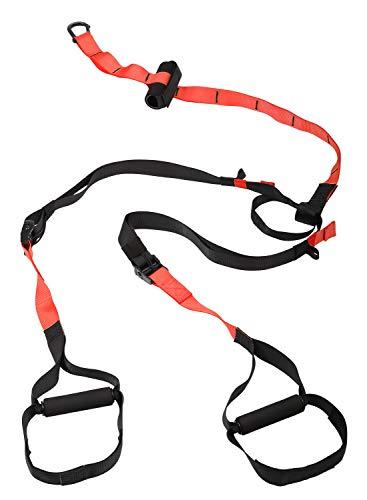 SportPlus Schlingentrainer Set - Premium Sling mit Türanker Suspension Widerstandstrainer