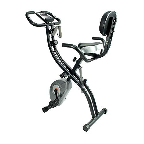 ATIVAFIT Fitness Bike 4in1 Heimtrainer mit Rückenlehne & integriertem Seilsystem - einzigartiges...