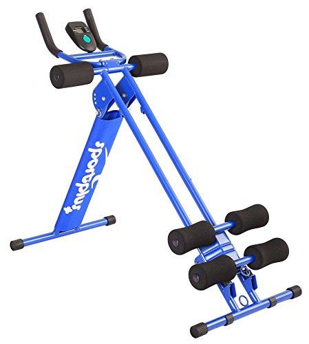 SportPlus SP-ALB-011 AB Plank Bauch- und Rückentrainer