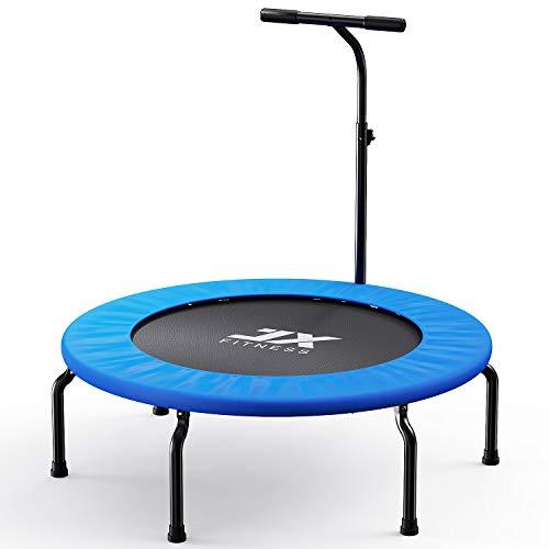 Fitness Trampolin 40Zoll Faltbar Rebounder für Körpertraining und Cardio Workout Spaß für...