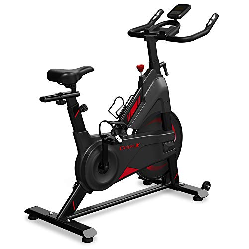 Dripex Speedbike Indoor Cycle mit Magnetwiderstand, Stufenlose Widerstandseinstellung,...