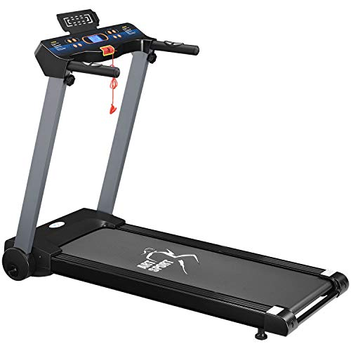 ArtSport Laufband Speedrunner 2500 elektrisch klappbar 12 km/h | 12 Programme | LCD Display | bis...