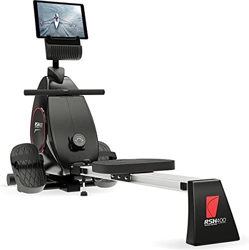 Sportstech RSX400 Rudergerät | Deutsches Qualitätsunternehmen | Video Events & Multiplayer App...