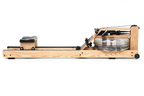 Water Rower Rudergerät Esche mit S4 Leistungsmonitor, 210x56x53 cm