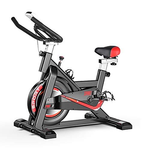 DnKelar Heimtrainer Fahrrad für zuhause, Heim Sitzfahrrad mit Digitaler Monitor, Multifunktionaler...