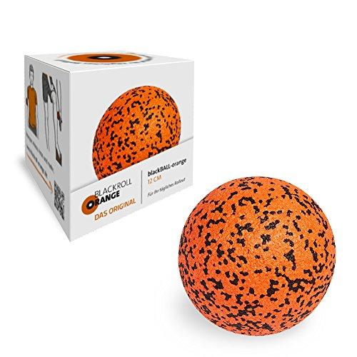 Blackroll Orange Faszienball 12 cm - Massage-Ball (orange) zur Triggerpoint Selbstmassage - Ideal...