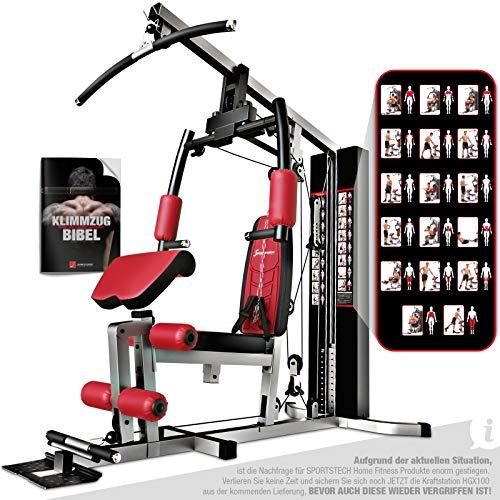 Sportstech Einzigartig Premium Kraftstation HGX100/HGX200 für unzählige Trainingsvarianten...