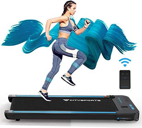 CITYSPORTS Laufband mit 440 W Elektromotor integrierte Bluetooth-Lautsprecher Einstellbares Tempo...
