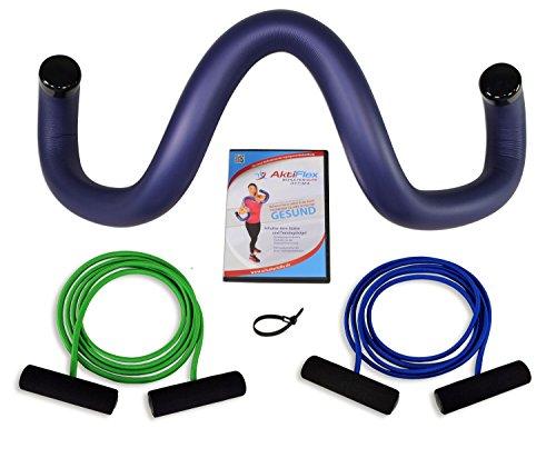 AktiFlex® Schulterhilfe® Optima Comfort-Set Schultertrainer gegen Schulterschmerzen und schlechter...