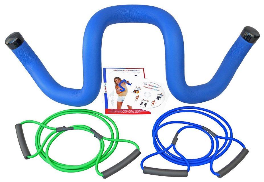 Schulterhilfe® Comfort-Set Schultertrainer gegen Schulterschmerzen und schlechter Haltung von AktiFlex®