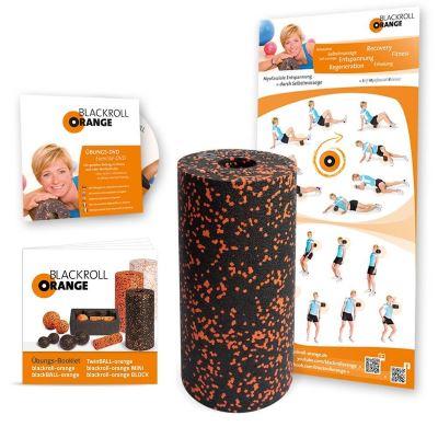 Blackroll Orange Selbstmassagerolle Starter-Set Standard