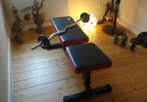 fitnessger te f r zuhause. Black Bedroom Furniture Sets. Home Design Ideas