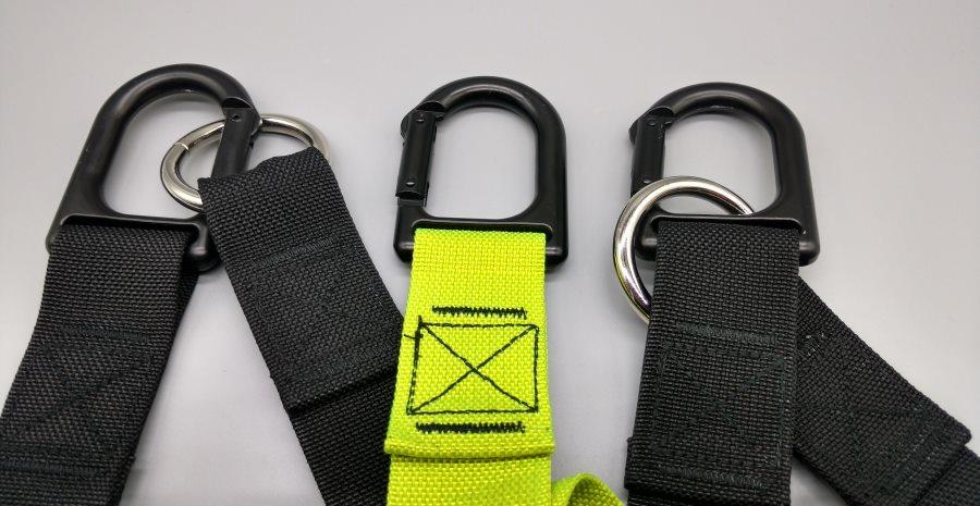 eaglefit® Sling Trainer Karabinerhaken mit guter Verarbeitung